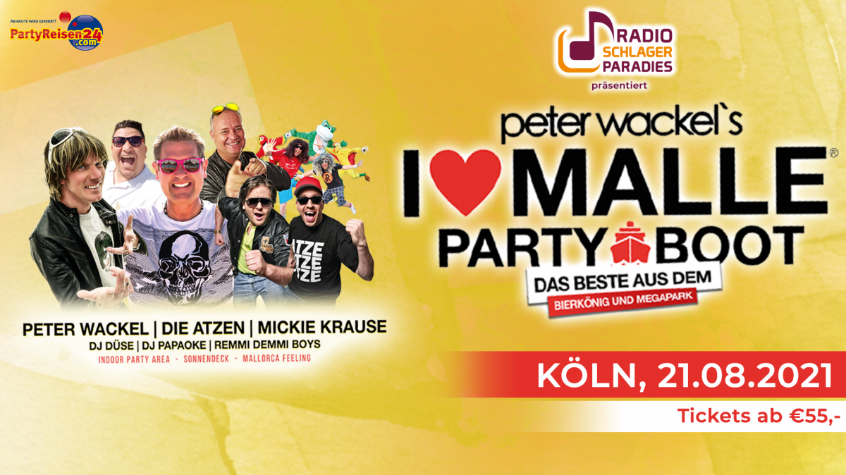 I Love Malle - Partyboot 2021