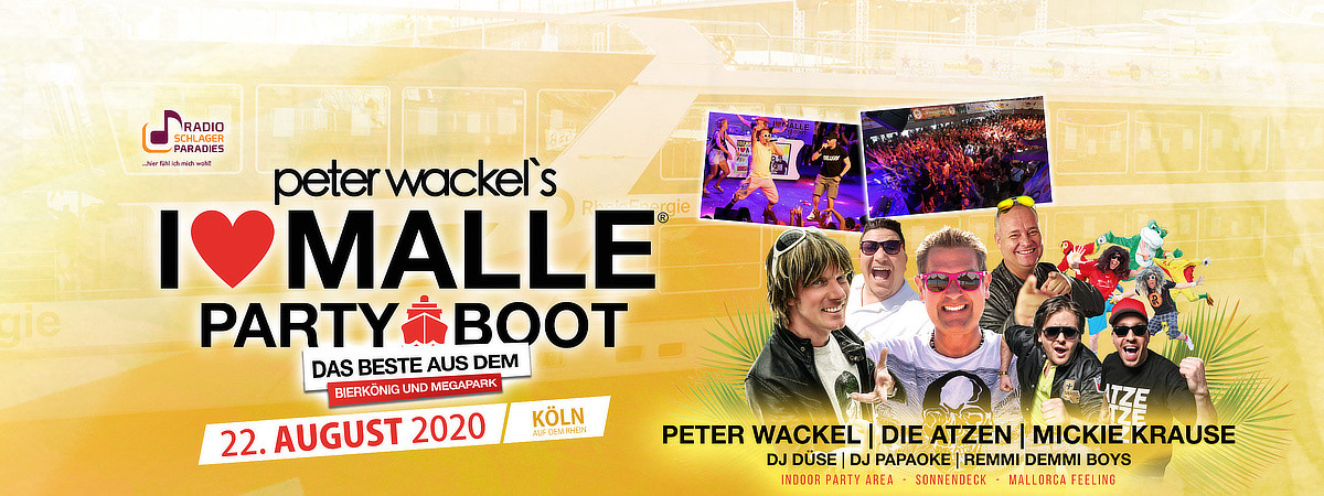 I love Malle - Partyboot 2020