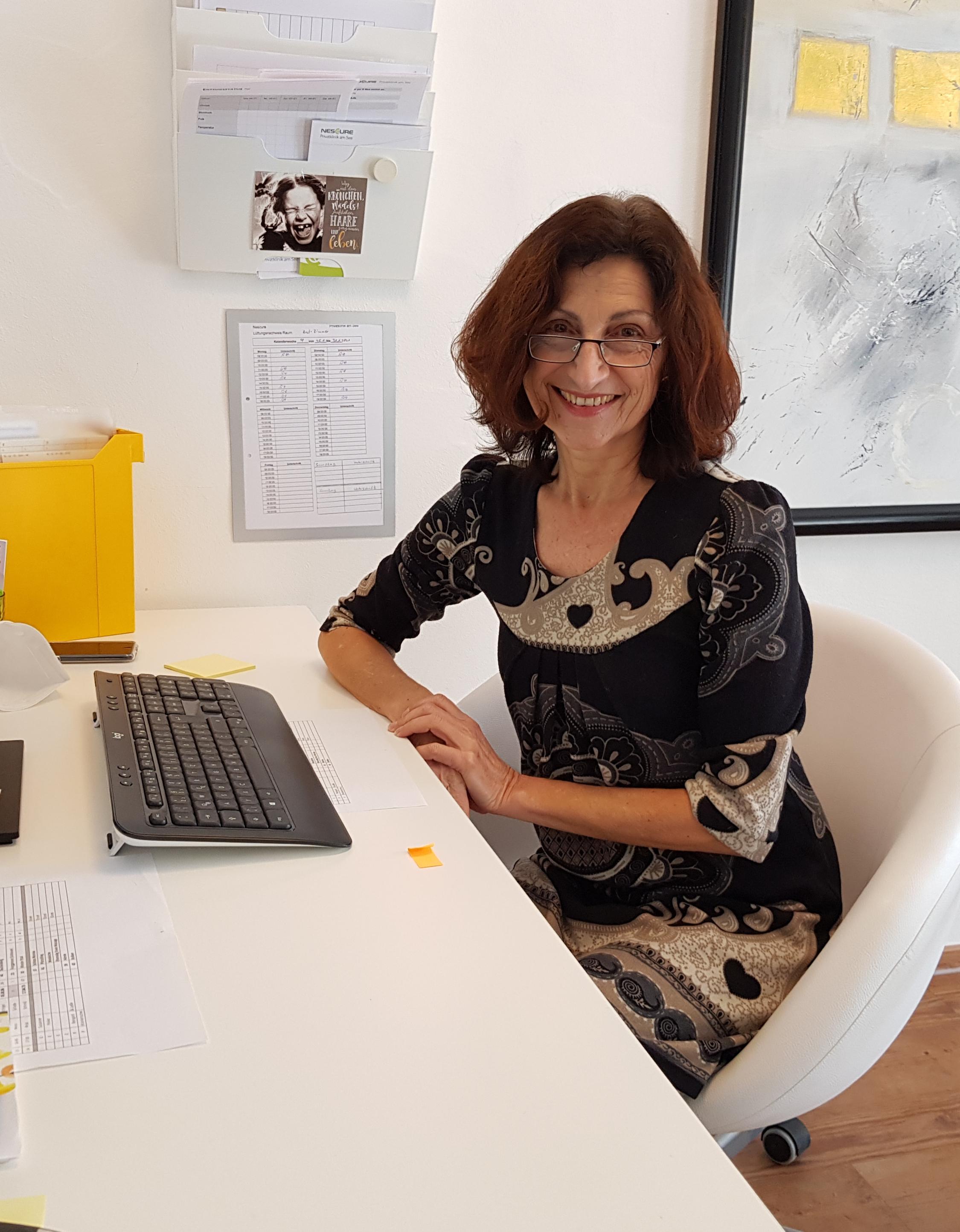 Dr. med. Reingard Herbst Chefärztin Chefärztin der NESCURE Privatklinik am See Fotograf privat 2021 2